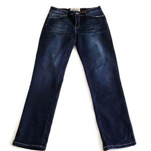 L&B stretch straight leg Jean's size 12